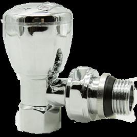 Арматура для подключения радиаторов отопления HLV-107007 Cr