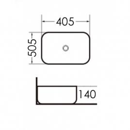 Раковина Grossman GR-3020