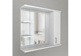 "Зеркало ""Модерн"" 1 дверь + зеркало, 2 полки"