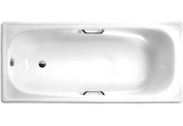 Ванна Стальная White Wave Italica 1,7 м (с ручками)