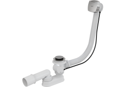 A51CR Сифон для ванны автомат комплект хромированный