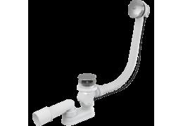 A55KM Сифон для ванны автомат металл/хром