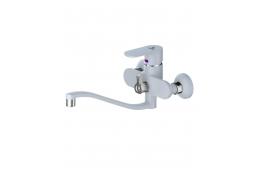 CAL2533A45A Смеситель Calorie для ванны белый