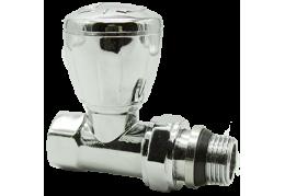 Арматура для подключения радиаторов отопления HLV-107008 Cr