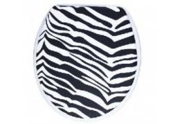 Сиденье для унитаза зебра