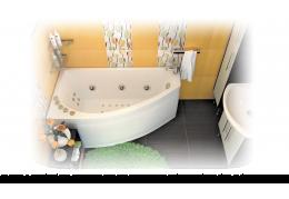 Акриловая ванна Тритон БЭЛЛА [правая] 140