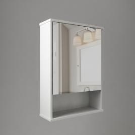 """Зеркало """"Троя"""" 1 дверь + ниша"""