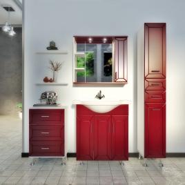 """Зеркало """"Рубин"""" 2 двери + зеркало"""