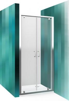 2х секционная дверь распашная в обе стороны