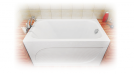 Акриловая ванна Тритон Стандарт 120