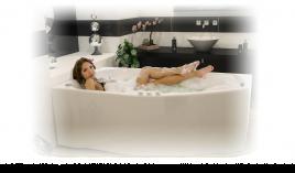 Акриловая ванна Тритон СКАРЛЕТ [правая] 167