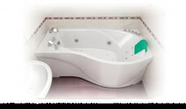 Акриловая ванна МИШЕЛЬ-1800 [левая]