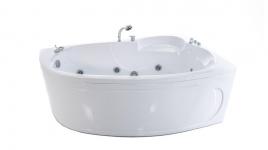 Акриловая ванна ИЗАБЕЛЬ [левая]