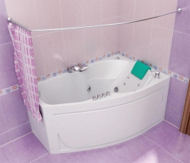 Акриловая ванна Тритон ЛАЙМА [левая] 160