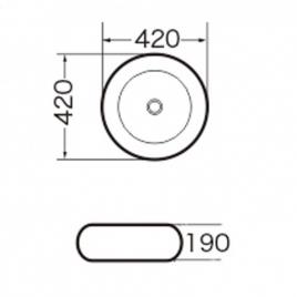 Раковина Grossman GR-3010