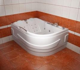 Акриловая ванна РЕСПЕКТ [правая]