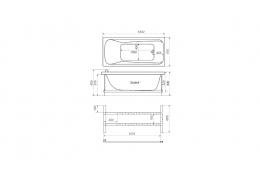 Акриловая ванна Тритон ЭММА-150