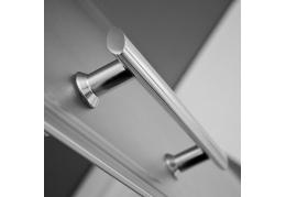 Душевой уголок 900*900 радиусный с двумя раздвижными дверями
