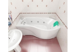 Акриловая ванна МИШЕЛЬ [левая]