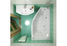 Акриловая ванна Тритон СКАРЛЕТ [левая] 167