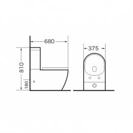 Унитаз напольный Grossman GR-4446