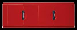 Экран для ванны Misty Жасмин L=1500 МДФ красная пленка